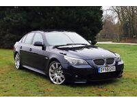 """2007 BMW 530D M SPORT LOW MILES! AUTOMATIC! 19"""" SPYDER ALLOYS! DIESEL 535D 520D E60"""