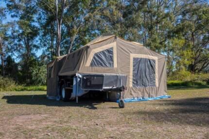 Off-Road Camper Trailer, Camel Beachcomber Plus