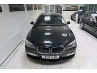 BMW 7 SERIES 3.0 730Ld M Sport LWB 4dr Auto (black) 2011
