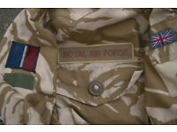 Super grade - British RAF Issue Desert Pattern Windproof Combat Smock 170/104
