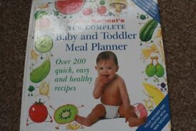 Annabel Karmel's recipe book for baby and toddler