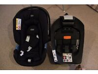 MAMAS&PAPAS BABY CAR SEAT WITH ISO FIX BASE