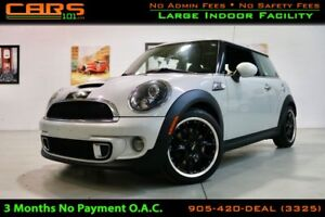 2011 MINI COOPER S Turbo| 6 Spd Manual|Fully Serviced|