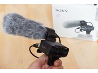 Sony XLR-K2M Adapter Kit and Microphone for Sony E-Mount cameras (a7MKIII, A7S a6500) etc