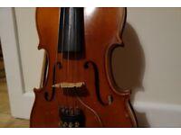 16 inch 1980 German Sandner Viola & Barcus Berry Pickup- Perfect for Beginner / Student
