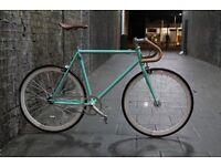 SALE ! GOKU cycles Steel Frame Single speed road bike TRACK bike fixed gear RACING fixie BIANCHI