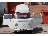 VW 'Early Bay' T2 Camper - 1969 Full Roof Very Original Never Welded