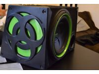 "FUSION 1200 Watts 12"" BASS subwoofer !!!"