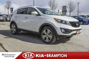 2016 Kia Sportage EX|BACK-UP CAM|BLUETOOTH|ALLOYS|KEYLESS
