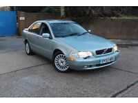 VOLVO S40 AUTOMATIC 2003 03 REG FULL LEATHER