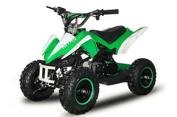MEGA SALE miniquad mini atv bike kinderquad 49cc 2takt quad
