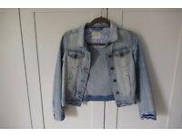Johnnie b girls denim jacket 11 - 12 yrs