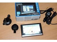 Garmin nuvi 2597LMT 5 inch Sat Nav, UK and Europe Maps, Bluetooth, Free Lifetime Map, Traffic Alerts