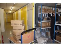 Large Secure 750sqft storage lock up with associated Office Space