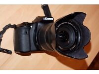 canon 60D and Canon EF-S 18 - 200 mm f/3.5-5.6 IS Lens for sale