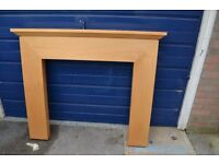 Solid Maple Fire Surround