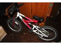 Girls Pink Challenge Bicycle Bike With Bell