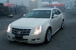 2010 Cadillac CTS Premiumcollection AWD 3.6L Loaded Navi, Heated