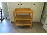 John Lews Changing Table