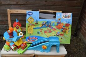 Toot Toot Train and Airport Sets including 4 vehicles