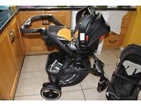 Graco Evo XT pushchair (travel system)
