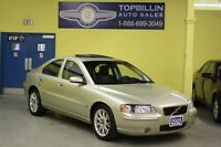 2005 Volvo S60 2.5T AWD *LEATHER*SUNROOF*