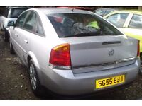 Vauxhall Vectra breeze cdti 2005-55-reg, 1910 cc turbo diesel, high miles, new engine fitted,