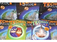 Techno Quest Classic classic 1990's magazine, featuring Wallace & Gromit. Complete set.