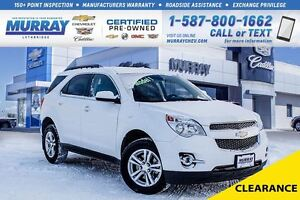 2015 Chevrolet Equinox 2LT**Low KMs!  Remote Start!**