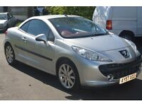 (NEW Clutch & Gearbox etc ... NEW MOT/Just Serviced) Peugeot 207 CC 1.6 Coupe GT Sport Convertible