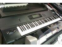Korg 01w Pro Workstation Synthesizer Keyboard