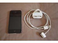 Apple iPhone 4 - Unlocked - Black - 16Gb - Excellent Condition