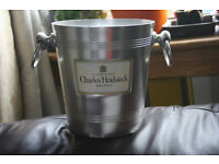 Original Charles Heidsieck Champagne Bucket perfect for christmas