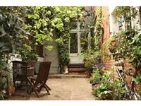 Pretty 2 bed garden flat for 2/3 bed in or near St James's Park area