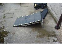 XS Air portable extreme sports ramp in a bag £30