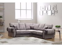 ⚫️🔴CHRISTMAS OFFER🔥🔥REDUCED PRICE🔥BRAND NEW🔥TANGO FABRIC CORNER SOFAS🔥EXPRESS DELIVERY🔴⚫️