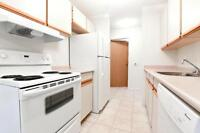 Two bedroom with in-suite laundry + gym facilities