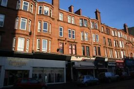 1 Bed flat in Dumbarton Road/West End Glasgow to Rent. Fully fitted kitchen, Secure Entry.