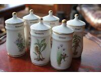 Flower Fairy spice jars