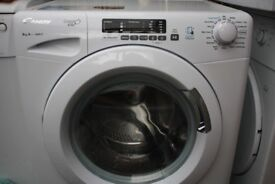 Candy Grand'O Vita 8Kg washing machine in good clean working order only 7 months old with warranty