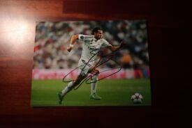 Gareth Bale signed photo £30