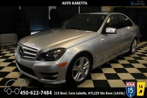 2013 Mercedes-Benz C-Class C 300 4MATIC/AWD TOIT OUVRANT, CUIR,