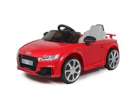 Kids ride on car audi licenced still in box red