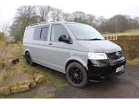 VW Transporter T5 SWB Converted Campervan - Conversion nearly new