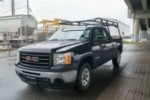 2013 GMC Sierra 1500 Ladder Rack and Locking Tool Box !