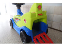Kids 1st Sit on Car with car shoot rrp £35