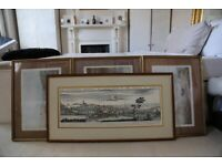 Antique Large Picture frame. From an auction in Mayfair. Solid wood. Birmingham, Warwick paint