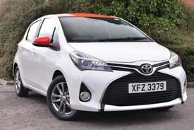 Toyota Yaris VVT-I ICON (white) 2015-05-31