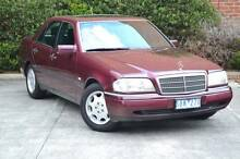 1996 Mercedes-Benz C200 Elegance Auto Sedan Nunawading Whitehorse Area Preview