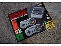 SNES Super Nintendo Classic mini (Brand new)